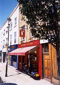 Photograph of shop front